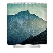 Lone Pine Peak Shower Curtain