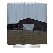 Lonesome Barn 2 Shower Curtain