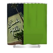 Fisher Island Exclusive Private Shower Curtain