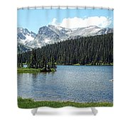 Long Lake Splender  Shower Curtain