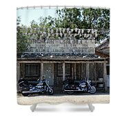 Longhorn Saloon Shower Curtain