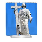 Looking To Heaven Shower Curtain