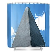 Looking Up At Bunker Hill Shower Curtain