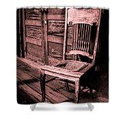 Loomis Ranch Chair Shower Curtain