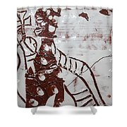 Lord Bless Me 8 - Tile Shower Curtain