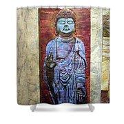 Lord Buddha  Shower Curtain