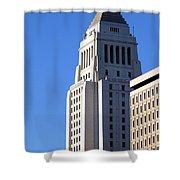 Los Angeles City Hall Shower Curtain