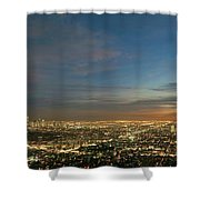 Los Angeles City Of Angels Shower Curtain