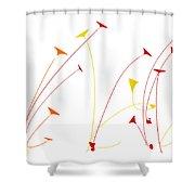 Lotus Garden Shower Curtain