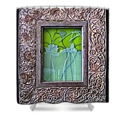 Lotus Pond Shower Curtain