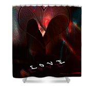 Love Shower Curtain by Gerlinde Keating - Galleria GK Keating Associates Inc