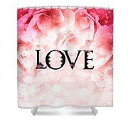 Love Heart Nd12 Shower Curtain