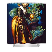 Love Thine Anemone Shower Curtain by Patrick Anthony Pierson
