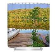 Lovely Lake Shower Curtain