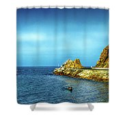 Lovers Cove Shower Curtain