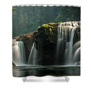 Lower Lewis Falls Shower Curtain by Blanca Braun