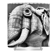 Lucy The Elephant Shower Curtain