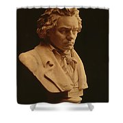 Ludwig Van Beethoven, German Composer Shower Curtain