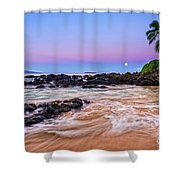 Lunar Paradise Shower Curtain