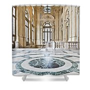 Luxury Interior In Palazzo Madama, Turin, Italy Shower Curtain