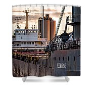 M/v Algomarine Shower Curtain
