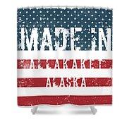 Made In Allakaket, Alaska Shower Curtain