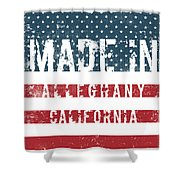 Made In Alleghany, California Shower Curtain