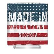 Made In Allentown, Georgia Shower Curtain