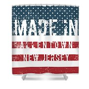 Made In Allentown, New Jersey Shower Curtain