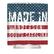Made In Anderson, South Carolina Shower Curtain