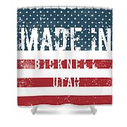 Made In Bicknell, Utah Shower Curtain