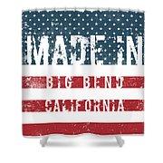 Made In Big Bend, California Shower Curtain