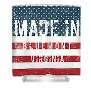 Made In Bluemont, Virginia Shower Curtain