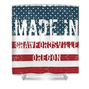 Made In Crawfordsville, Oregon Shower Curtain