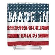 Made In Fairgrove, Michigan Shower Curtain