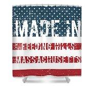 Made In Feeding Hills, Massachusetts Shower Curtain