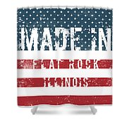 Made In Flat Rock, Illinois Shower Curtain