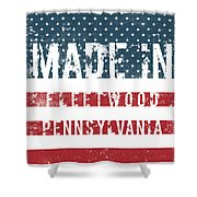 Made In Fleetwood, Pennsylvania Shower Curtain