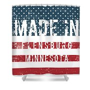 Made In Flensburg, Minnesota Shower Curtain