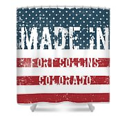 Made In Fort Collins, Colorado Shower Curtain