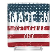 Made In Fort Loramie, Ohio Shower Curtain