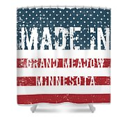 Made In Grand Meadow, Minnesota Shower Curtain