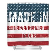 Made In Heidenheimer, Texas Shower Curtain