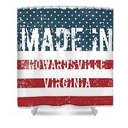 Made In Howardsville, Virginia Shower Curtain