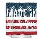 Made In Huttonsville, West Virginia Shower Curtain