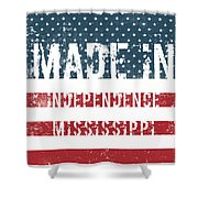 Made In Independence, Mississippi Shower Curtain