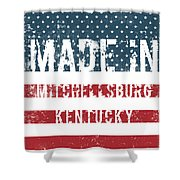 Made In Mitchellsburg, Kentucky Shower Curtain