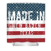 Made In New Baden, Texas Shower Curtain