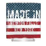 Made In Newton Falls, New York Shower Curtain