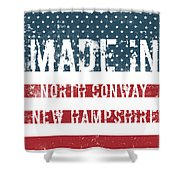 Made In North Conway, New Hampshire Shower Curtain